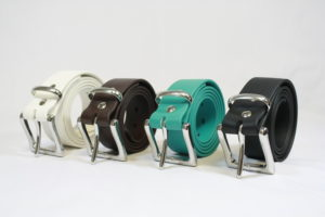 BioThane belts in various colors